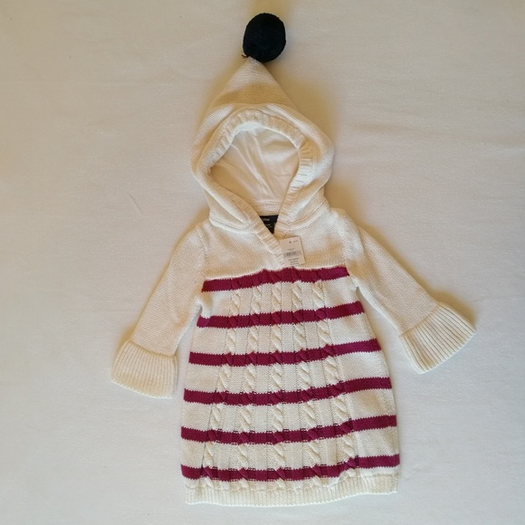 e6e0bccb2c65c GAP Dresses | Nwt 36 Month Baby Cable Knit Sweater Dress | Poshmark